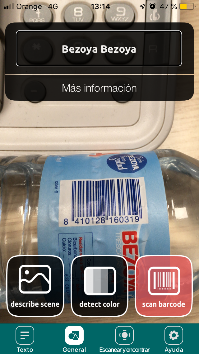 Barcode of IOS