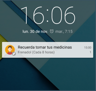 widget medication reminder
