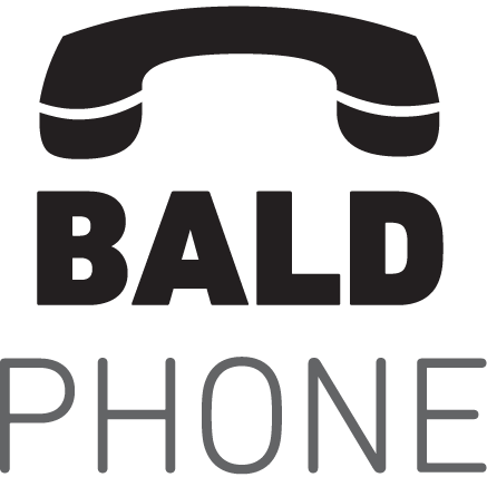 We can see the Bald Phone icon