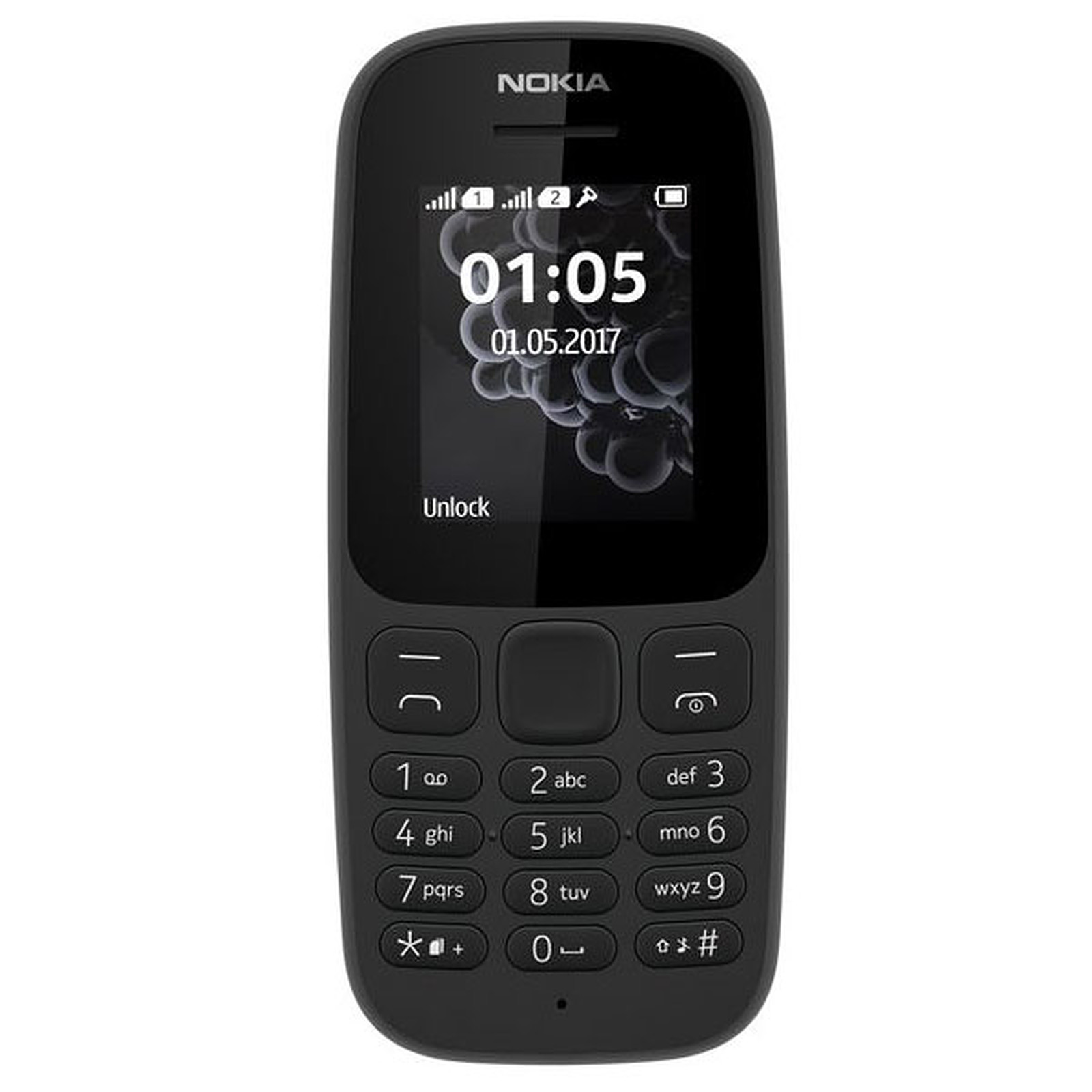 Image of Senior phone Nokia 105 Dual SIM