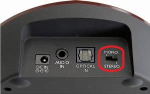 Rear charging base with marked mono stereo function