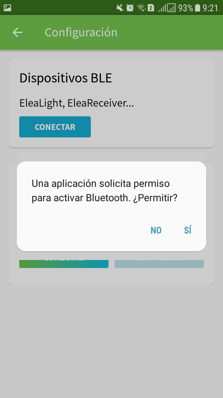 Sincronización Bluetooth