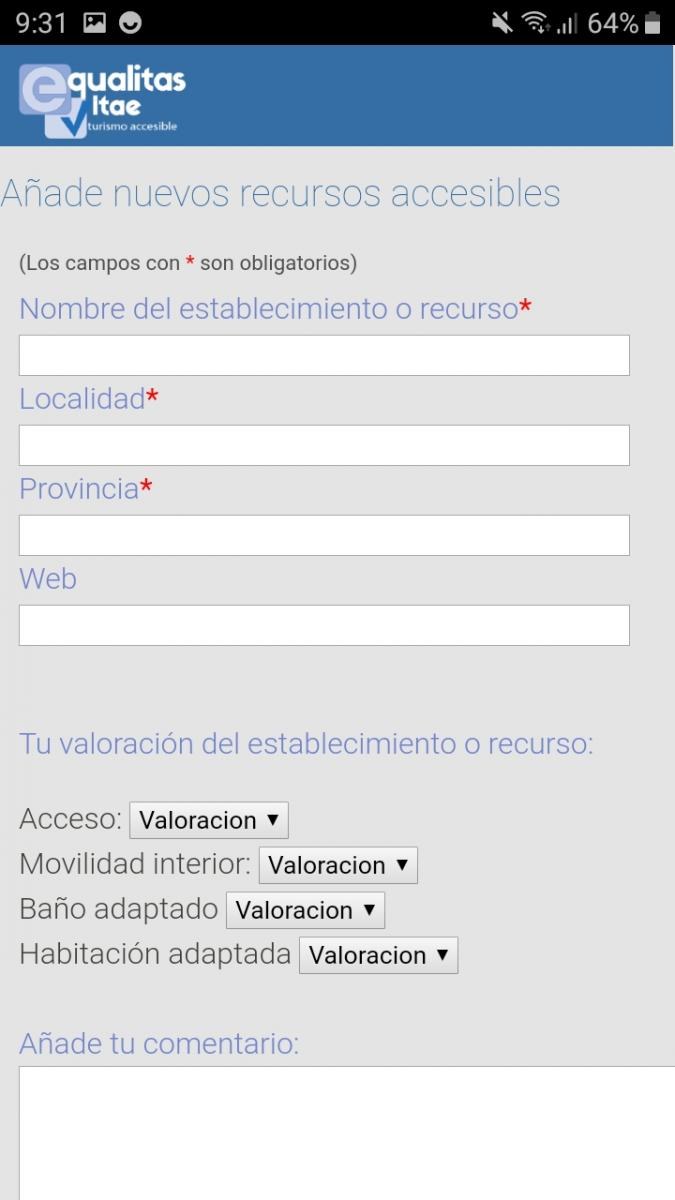 Example Register a New Accessible Place