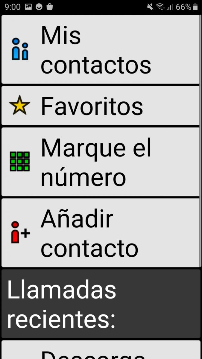 Launcher Contacts Interface