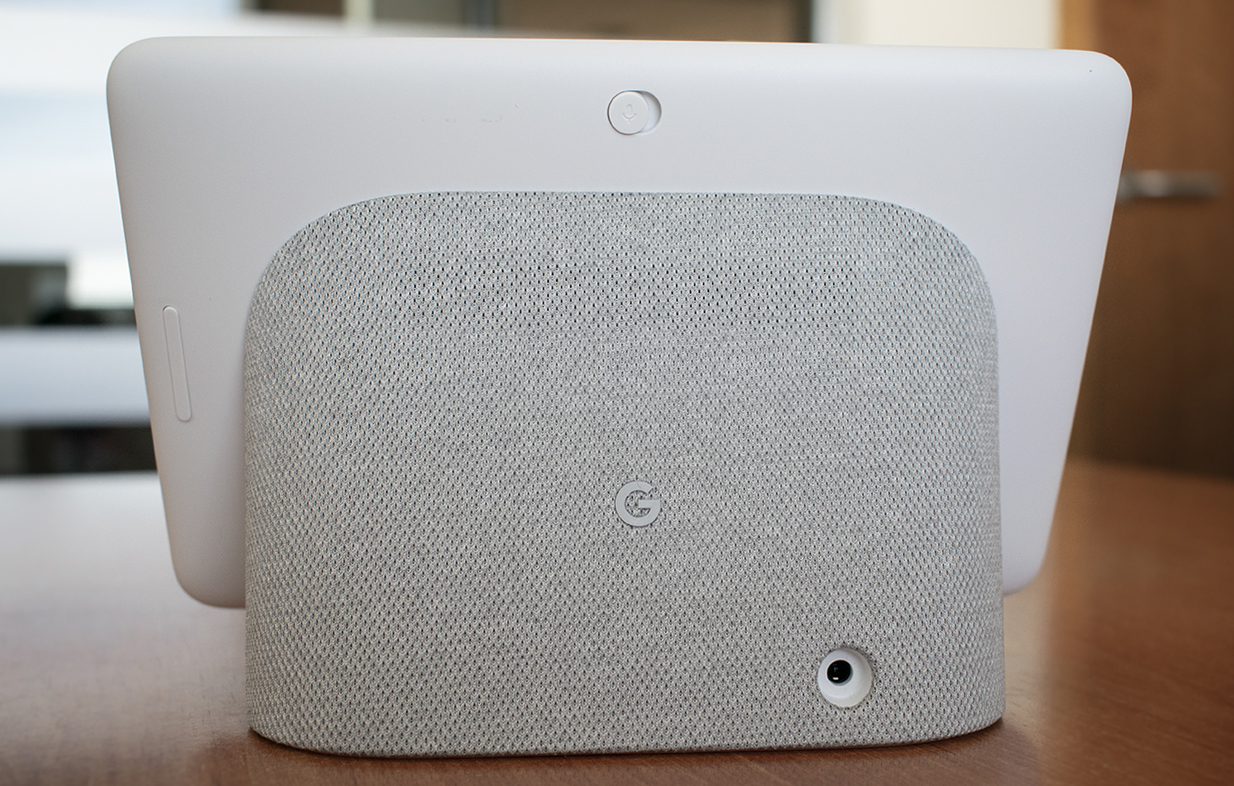 Back of the Google Nest Hub