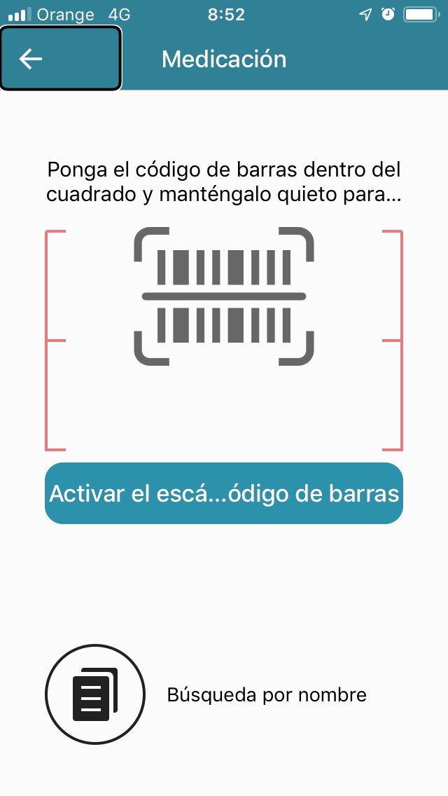 Introducir medicamento en IOS