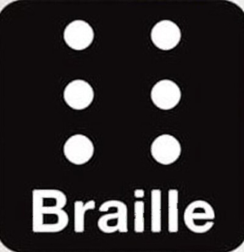 Braille Talkback Keyboard Icon