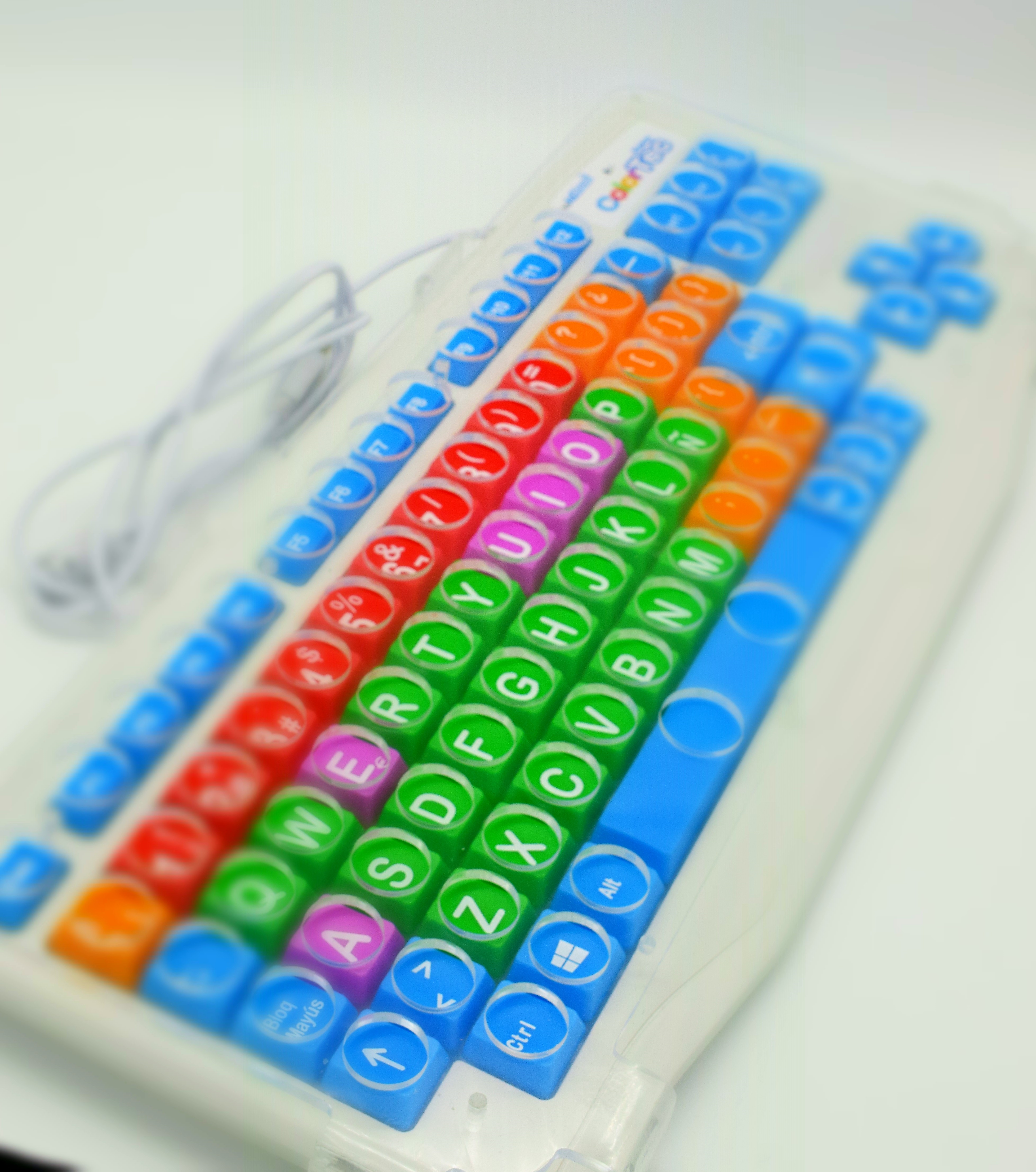Image of the colorTec keyboard