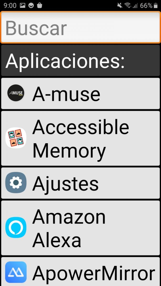 Launcher Applications Interface